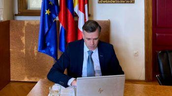 Župan Gregor Macedoni sodeloval na videokonferenci o globalnem segrevanju