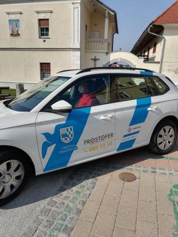 Preddvorski Prostofer že vozi!