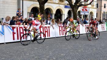 Glavni trg znova v ciljni ravnini kolesarske dirke za VN Adrie Mobil