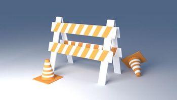 Obvestilo o zapori ceste zaradi rekonstrukcije cest z izgradnjo komunalne infrastrukture