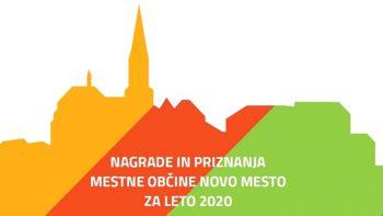 Predstavljamo nagrajence Mestne občine Novo mesto za leto 2020