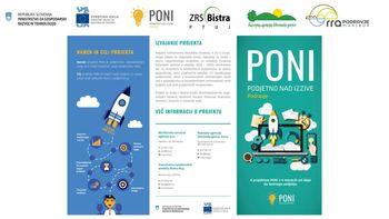 Projekt podjetno nad izzive – PONI PODRAVJE
