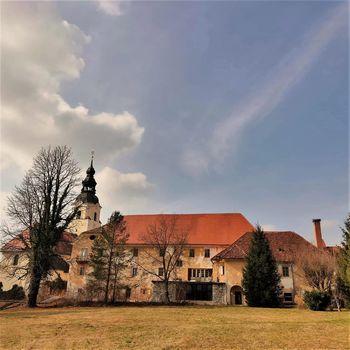 Nujna vzdrževalna dela gradu Dvor pod okriljem Občine