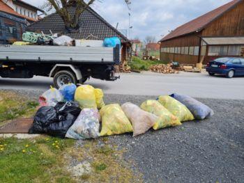 Čistilna akcija na območju Občine Lenart