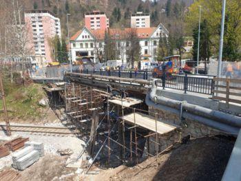 Zaključuje se rekonstrukcija nadvoza pri TVD Partizan Jesenice
