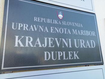 Uradne ure v Krajevnem uradu Duplek odslej dvakrat na teden