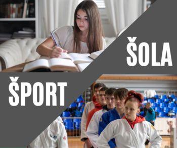 S športom do dobrih učnih uspehov - Gibanje je življenje!