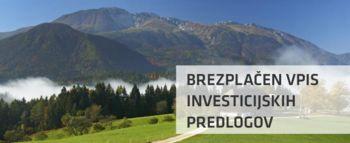 Brezplačen vpis in promocija investicijskih predlogov