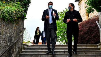 Novo mesto obiskal minister za javno upravo Boštjan Koritnik