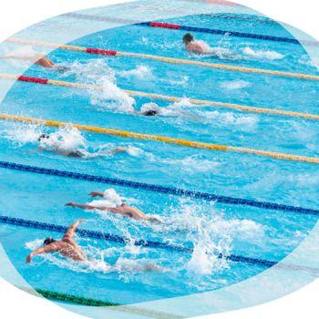 Rekreativno plavanje v kopališču Tivoli