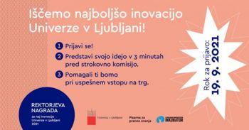 Naj inovacija Univerze v Ljubljani 2021