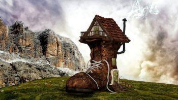 Anekdota o zakletem gradu na Mehovem v KS Podgrad