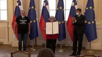 Rožca Šonc: prejemnica državne nagrade na področju prostovoljstva za leto 2020