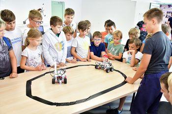 Razvojni center napoveduje poletne delavnice Ciciban in robotek