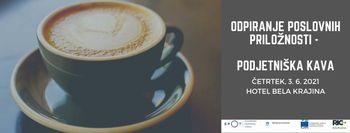 Odpiranje poslovnih priložnosti - Podjetniška kava
