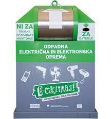 Delitev rumenih vrečk ter zbiranje odpadne električne in elektronske opreme