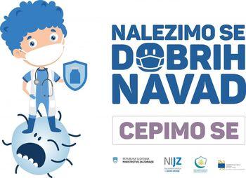Aktualno o poteku cepljenja proti COVID-19 v Zdravstvenem domu Grosuplje