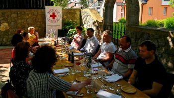 Ob slovenskem dnevu krvodajalstva županov sprejem krvodajalcev