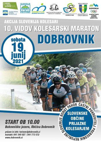 Razpis za 10. Vidov kolesarski maraton