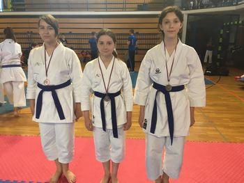 Mirnopeški karateisti do najvišjih uvrstitev na 2. pokalni tekmi Karate zveze Slovenije