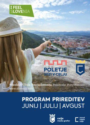 Program Poletja v Celju 2021