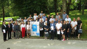 Slovesnost ob 70. obletnici Društva gradbenih inženirjev in tehnikov Novo mesto