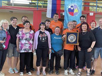 Športni uspeh na državnem prvenstvu v balinanju dvojic pod okriljem Športne zveze gluhih v Škofji Loki