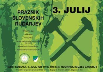 Praznik slovenskih rudarjev v Rudarskem muzeju Zagorje