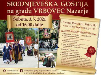 SREDNJEVEŠKA GOSTIJA na gradu Vrbovec
