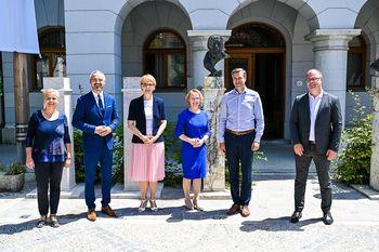 Novo mesto obiskal minister Janez Cigler Kralj