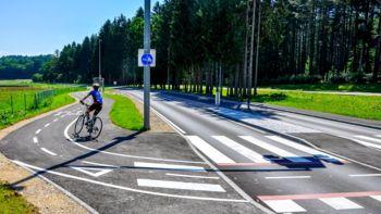 S pomočjo evropskih sredstev do urejene kolesarske povezave med Novim mestom in Stražo