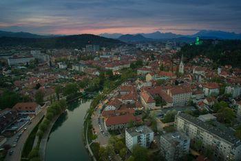 Množično cepljenje v Ljubljani
