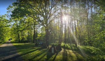 Počitek v spominskem parku prijateljstva