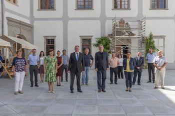 Obisk ministra Počivalška in ministra Simonitija v Cirkulanah