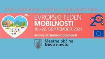Evropski teden mobilnosti 2021 v Novem mestu