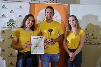 Mladi in kmetijstvo: uspeh taborske mladine