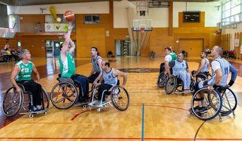 Košarkarji Društva paraplegikov tretji na državnem tekmovanju
