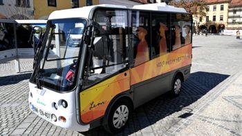 Minibus Leon zaradi okvare do nadaljnjega ne obratuje