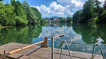 Voda reke Krke odlične kakovosti in primerna za kopanje