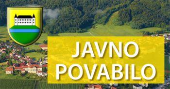 Povabilo k oddaji ponudbe - Rekonstrukcija ceste s pločnikom v Šeščah