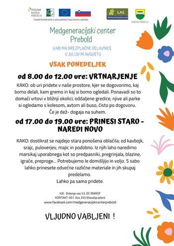Medgeneracijski center - v ponedeljek vrtnarjenje in recikliranje (5)