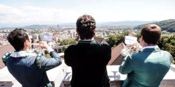 Z Ljubljanskega gradu se ponovno oglašajo Grajski piskači