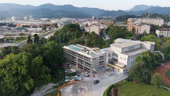 Kljub gradnji prizidka bo septembra pouk na OŠ Hudinja potekal nemoteno
