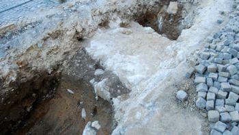 Na Kapitlju dokazi prazgodovinske poselitve, na Rozmanovi ulici razkrito srednjeveško obzidje