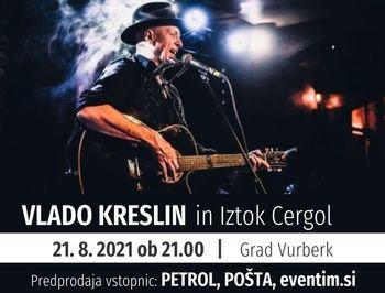 Koncert: Vlado Kreslin in Iztok Cergol