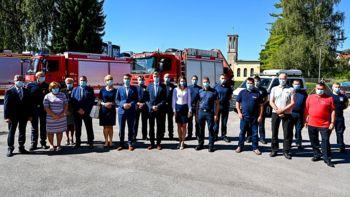 Podpis namere za Regionalno središče za zaščito, reševanje in pomoč Novo mesto