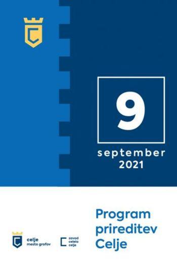 Program prireditev - september 2021