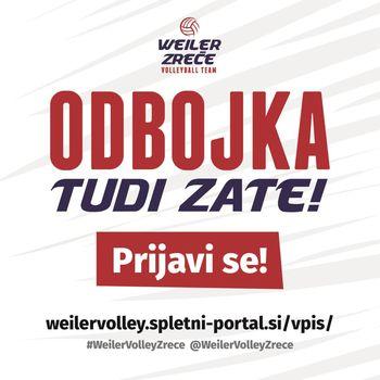 Vabilo - ODBOJKA TUDI ZATE !