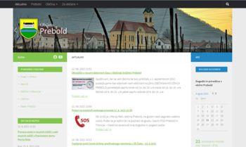 MojaObčina.si/Prebold in nova uradna spletna stran Občine Prebold