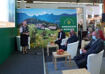 Posvet Agencije Republike Slovenije za kmetijske trge in razvoj podeželja na kmetijsko-živilskem sejmu AGRA v Gornji Radgoni
